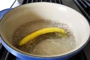 banana peel off