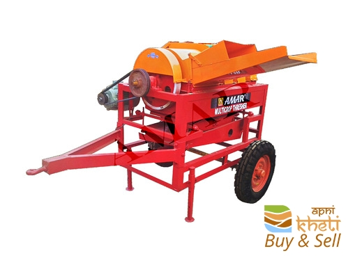 M,ulticrop thresher tractor