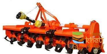 Rotavator tractor
